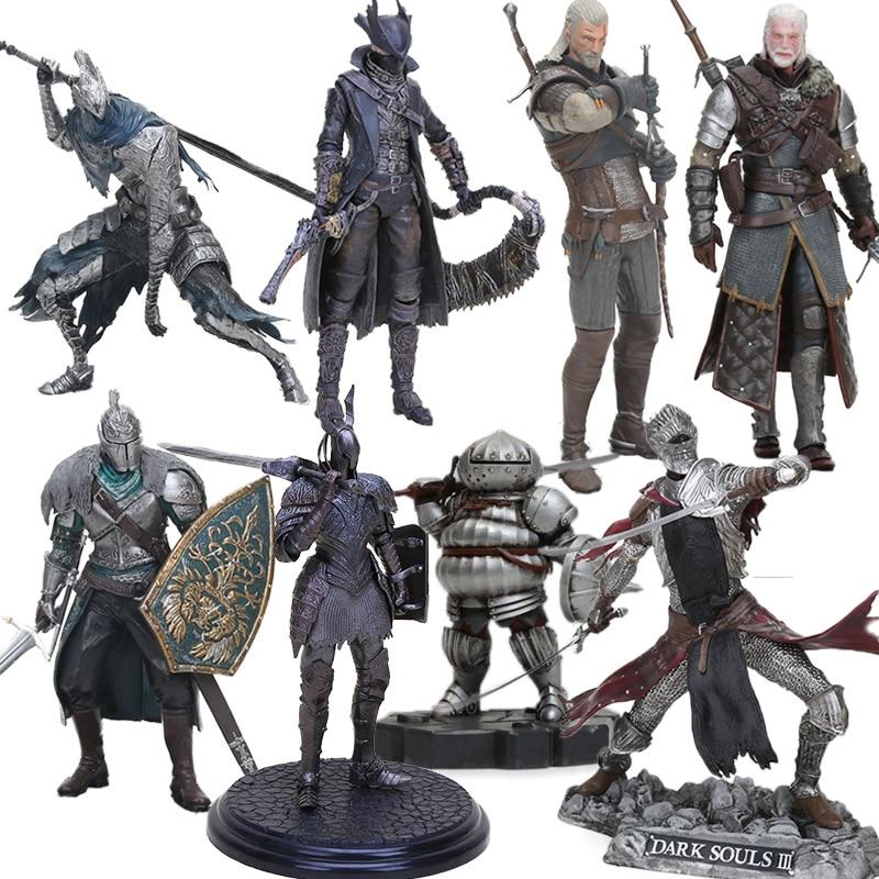 Dark Souls II 15-18cm Faraam Knight Artorias The Abysswalker PVC Action Figure Knight Of Astora Oscar Collectible Model Doll Toy