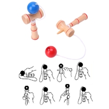 Kendama-Ball Skill Educational-Toys Game Wood Kids Children Balance HBB for Adults 1PC