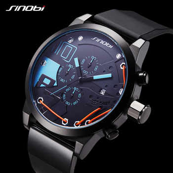 SINOBI Men's Watches Top Brand Luxury Men's Sports Watch Waterproof Fashion Casual Quartz Watch Relogio Masculino - DISCOUNT ITEM  43% OFF All Category
