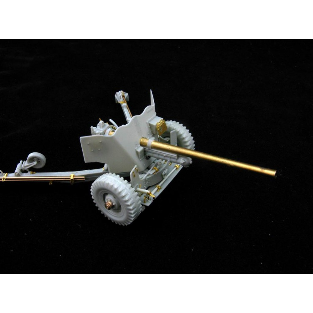 OHS Orange Hobby G35016240 1/35 US M1 57mm AntiTank Gun Early Version Model Kits Hobby Assembly Artillery Kits 1 35 assembly model e 100 frederick scher type containing metal gun turret