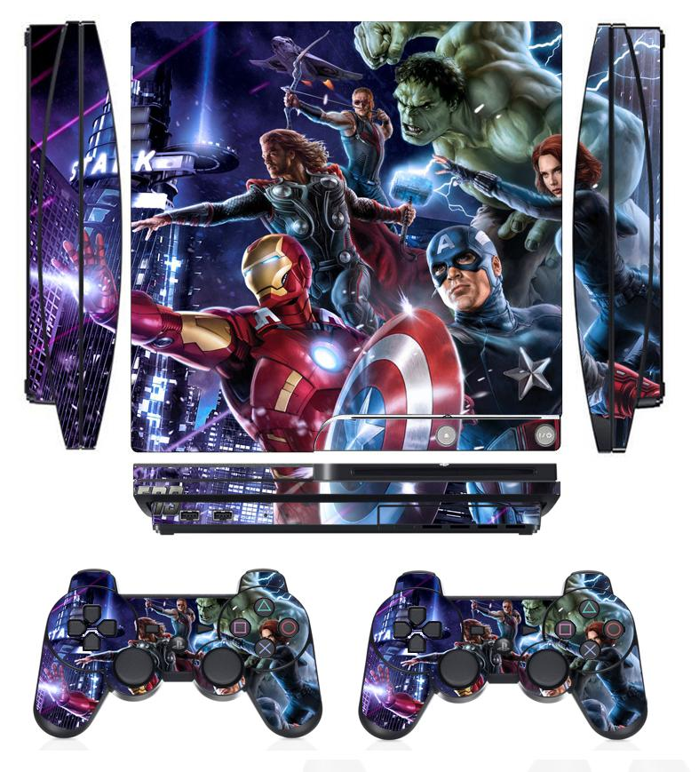 Video Game Accessories Gow 210 Vinyl Decal Cover Skin Sticker For Xbox360 Slim And 2 Controller Skins Punctual Timing