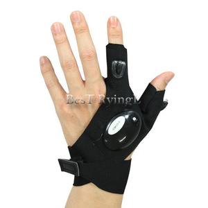 Image 4 - Y1G 1pcs Right hand  Lighting glove Night car repair glove led light Night fishing lamp glove