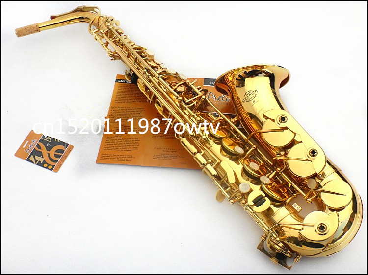 11 New FREE SHIPPING Hot EMS DHL 54 Selmer Alto Saxophone Musical Instrument Professional Electrophoresis Gold Grade