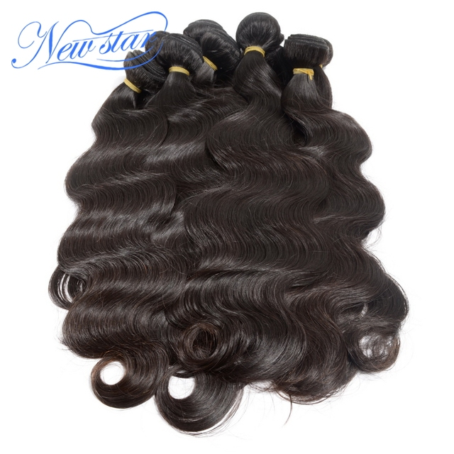 wholesale aliexpress new star malaysian unprocessed virgin human hair body wave extension sale 10pcs lot free shipping