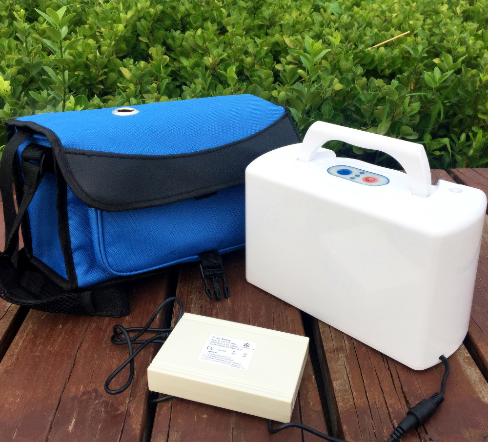 XGREEO Portable Battery Oxygen Concentrator Generator oxygen tank medical oxygen concentrator for respiratory diseases 110v 220v oxygen generator copd oxygen supplying machine