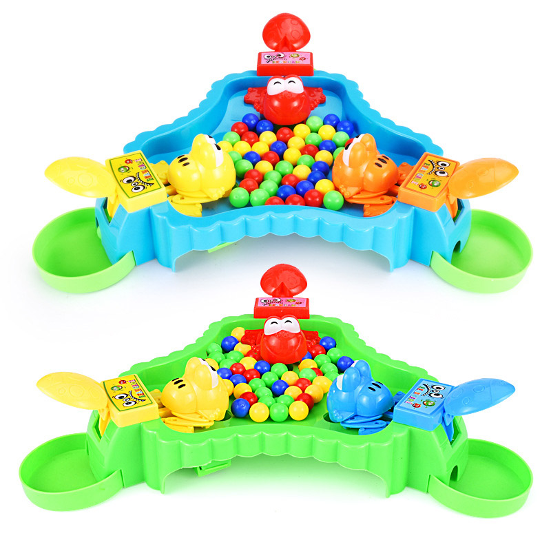 Novelty Frog Eat Beans Board Game Funny Strategy Game Family Parent child Interactive Children Party Game