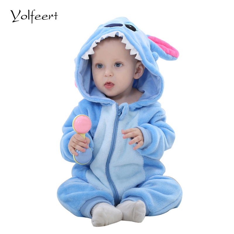 YOLFEERT Newborn Baby Boy Clothes Spring/Autumn Baby Girl Romper Rompers Fashion Baby Halloween Costume Jumpsuit New Born BS003