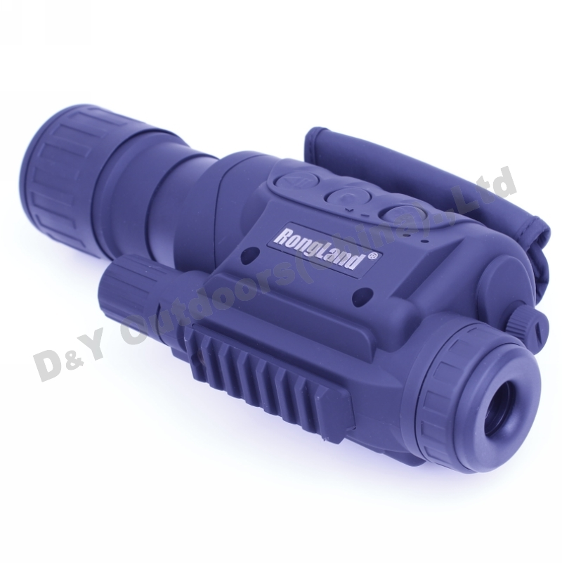 Day and night monocular telescope 6X50 digital infrared monocular night vision device Infrared Night Vision IR Monocular NV017