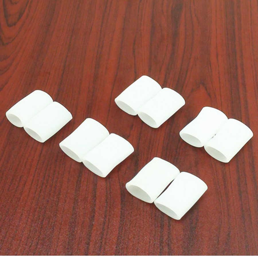 Bộ 2 Gel Silicone Bunion Nẹp Ngón Chân Cái Dụng Cụ Tách Chồng Lên Nhau Đầm Xòe Bảo Vệ Corrector Hallux Valgus Chân C172
