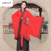 Han Chinese Clothing Costume Costumes Dance Clothes