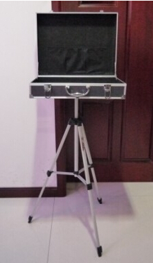 Housse de transport avec Base de Table Triangle (46*35*12.8 cm) tours de magie accessoires de magie accessoires de magiciens professionnels