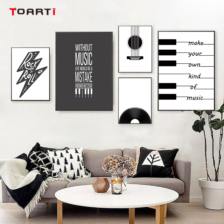 Minimalist Poster Music Definition Print Home Decor Wall Art Poster gift