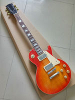 Custom Exclusive Lp Standard Electric Guitar One Piece Neck Body Light Handmade Relic Lp Guitar Classic