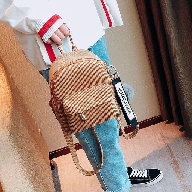Cute velvet Backpack For Teenagers Children Mini Back Pack Kawaii Girls Kids Small Backpacks female Packbags Fur ball school bag (8)