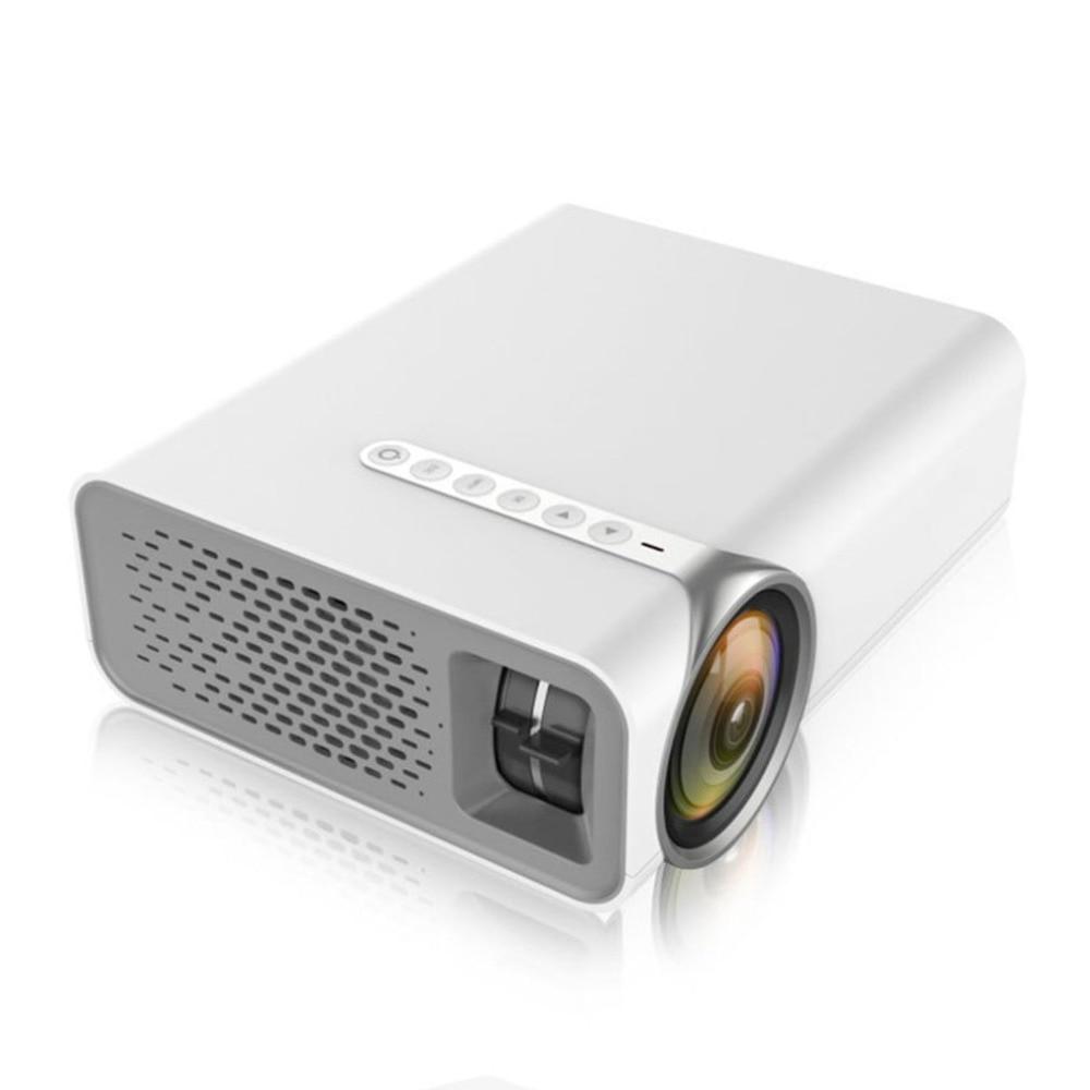 YG520 casa Micro proyector Mini miniatura portátil 1080 p HD proyección LED Mini proyector para cine en casa de entretenimiento