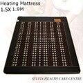 NEW heated jade tourmaline mattress jade Infrared heat mat health care good sleep mattress AC220V 1.5X1.9M/ 59''X74.8''