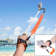 Di Immersione subacquea Galleggiante Cinturino Da Polso w/Hand Grip Holder per Sony FDR X3000 HDR AS200 AS50 AS30V AZ1 FDR X1000VR Action macchina fotografica
