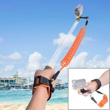 Tauchen Schwimmdock Handgelenk Strap w/Hand Grip Halter für Sony FDR X3000 HDR AS200 AS50 AS30V AZ1 FDR X1000VR Action kamera