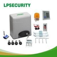 LPSECURITY 600 кг 2 4 6 брелков автоматические электрические раздвижные ворота для бутылок (датчик GSM кнопку лампа для клавиатуры опционально)