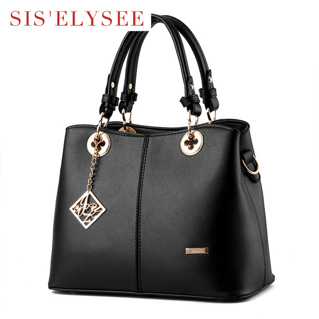 Fashion Solid Bag Pu Leather Bags Women Purses Top Designer Handbags With Low Price Luxury Woman