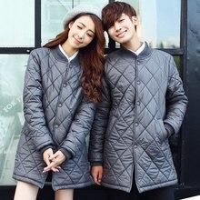 Мужская куртка осень-зима Высокое качество модные мужские хлопковые парки с хлопковой подкладкой пальто повседневная верхняя одежда теплая куртка