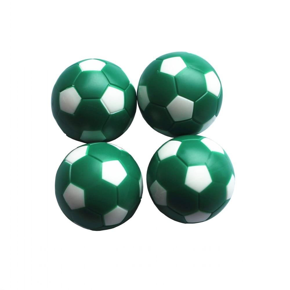 Tischfußbälle Fußball Tischspiel Fussball Indoor Spiel Grün + Weiß 36mm FUSSBALL 24g / Stk. Brettspiel