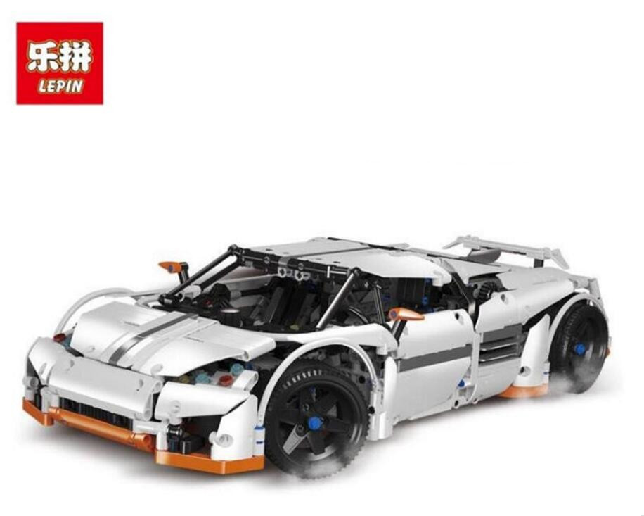 Lepin 20052 1950Pcs Technic Series The Predator Supercar Set MOC-2811 Building Blocks Bricks Educational Christmas Toys lepin 20052 the predator supercar set moc 2811 diy building blocks bricks children educational toy christmas gift lepin technic