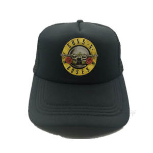 zwzqiqi Men Women Trucker Mesh Roses Men Rock Fans Cap Hat a01f3697c30e