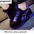 Фитнес-Леди Качели Моды Женской Обуви Повседневная Обувь Черный Zapatillas Deportivas Mujer Para Корейского Бренда Высокое Качество
