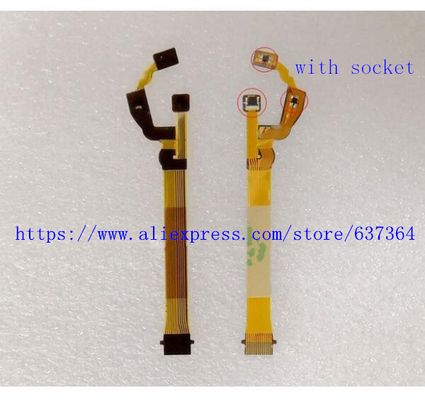 Nouvel Objectif Anti-Shake Flex Câble Pour Nikon J1 POUR NIKKOR 10-30mm 10-30mm 1:3. 5-5.6 VR Réparation Partie (avec prise)