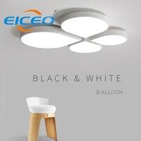 Современный простой Спальня светильник светодиодный потолочный светильник Обеденная лампа домашнего освещения, потолочные светильники д
