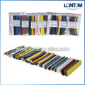 7 Sizes 7 colors 231pcs Assortment Polyolefin Heat Shrink sleeve