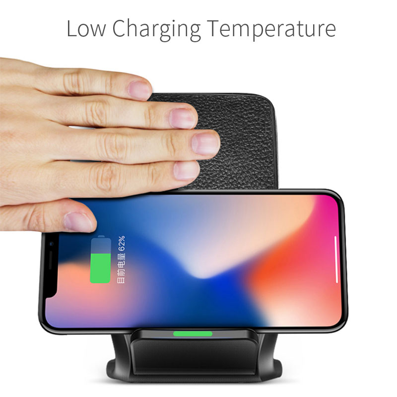 Image 3 - 10W Fast Qi Wireless Charger Phone Stand Wireless Charging Induction Charger For iPhone XR XS Max X 8 Plus Samsung Galaxy S9 S8-in Mobile Phone Chargers from Cellphones & Telecommunications