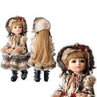 BJD куклы Reborn младенцев 45 см всего тела силикона Кукла реборн девушка реалистичные игрушки для детей Винтаж платье принцессы подарок на день