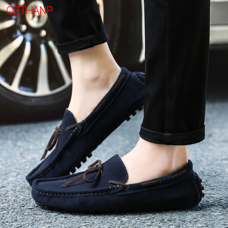 Men's Shoes Short Plush   Suede   Male Adult Shoes Fashion Casual   Leather   Shoes Men Loafer Mocassin Homme Spring Autumn Shoes Men
