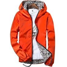 2017 brand new Hooded Men's Double Wear fashion Jacket Lurker Man Skin Jackets Leisure Windproof Waterproof Coat Clothing