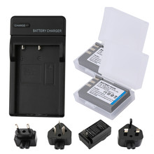 RP 7.4V 1250mAh EN-EL9 ENEL9 EN EL9 Rechargeable Battery for Nikon EN-EL9A D40 D40x D60 D3000 D5000 Camera