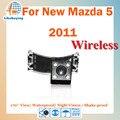 Беспроводная 1/4 цвет CCD камера заднего вида / парковка камера / беспроводная обратное камера для Mazda 5 ночное видение / 170 град.