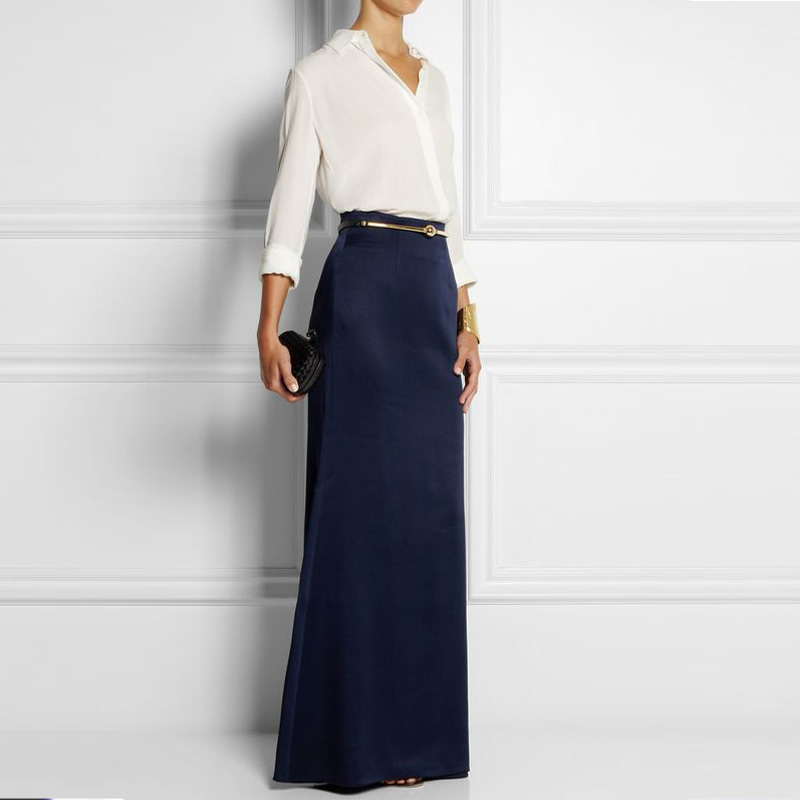 Popular Long Straight Maxi Skirt-Buy Cheap Long Straight Maxi ...