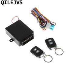 QILEJVS Car Alarm System Auto Remote Central lock Kit Door Lock Keyless Entry