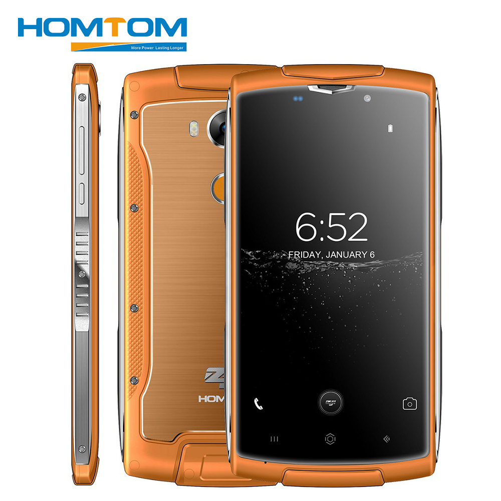 HOMTOM ZOJI Z7 4G IP68 Waterproof Smartphone 5.0 inch Android 6.0 MTK6737 Quad Core 1.3GHz 2GB RAM 16GB ROM 8MP Camera Cellphone
