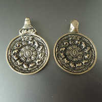 tbp073-tibet-jiugong-bagua-amulet-waist-tag-old-brass-golden-pendants-for-man-fine-quality