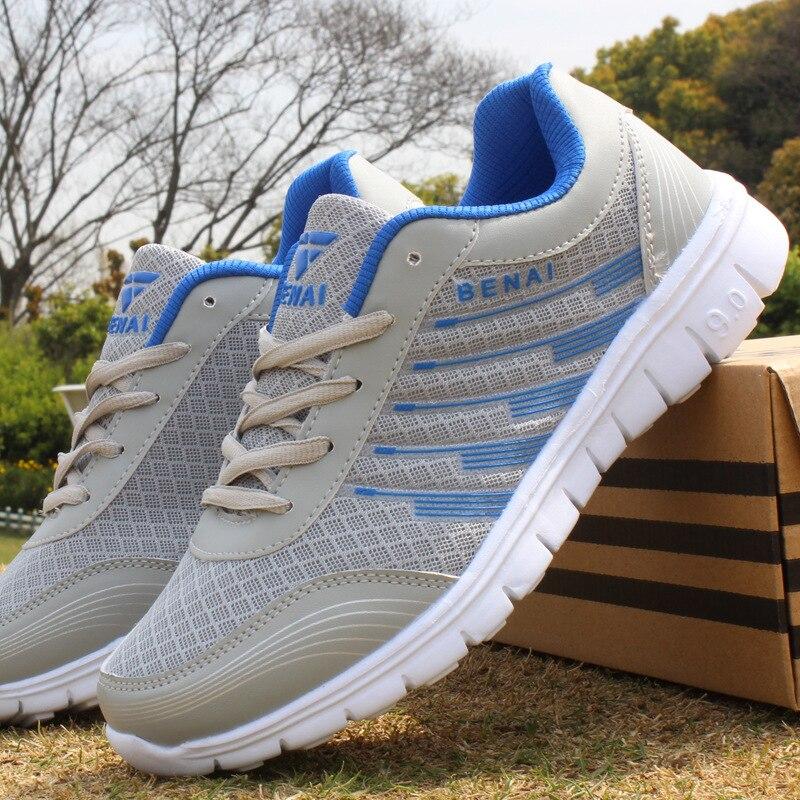 Высокого качества новые спортивные Для мужчин Для женщин осень холст мужской сетки обувь для бега Форрест Гамп обувь Zapatillas Deportivas Hombre максим...