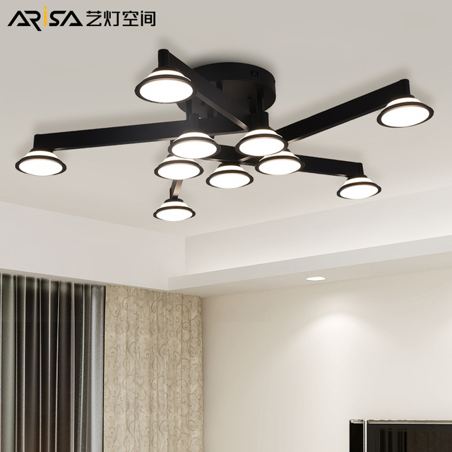 LED Ceiling Lights Retro fixtures industrial Ceiling light Nordic ...