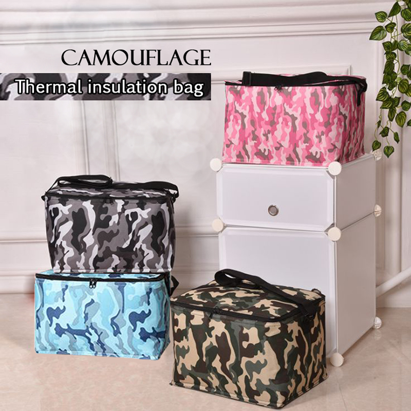 18.8l New Oxford Cloth Bag Sloping Insulation Bag.w4-166 A Complete Range Of Specifications Outdoor Single Shoulder Bag Picnic Bag