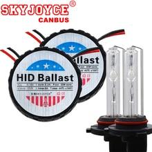 SKYJOYCE xenon 55W CANBUS HID Kit H7 H1 H3 HB3 HB4 D2H xenon Car xenon hid headlights kits fog Bulbs 4300K 5000K 6000K 8000K AC