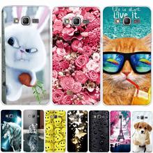 Cases For Samsung Galaxy Grand Prime Phone Case Soft TPU Silicone Cover Coque for Samsung Grand Prime Duos G530F G530H G530Y bag