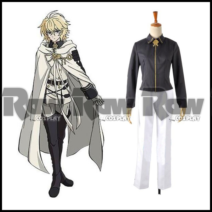 Anime Character Men Cosplay Costume Seraph Of The End Clothing