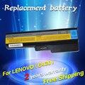 Bateria do portátil para lenovo 3000 jigu ideapad g430 g450 g530 g550 n500 z360 b460 b550 v460 v450 g455 g555