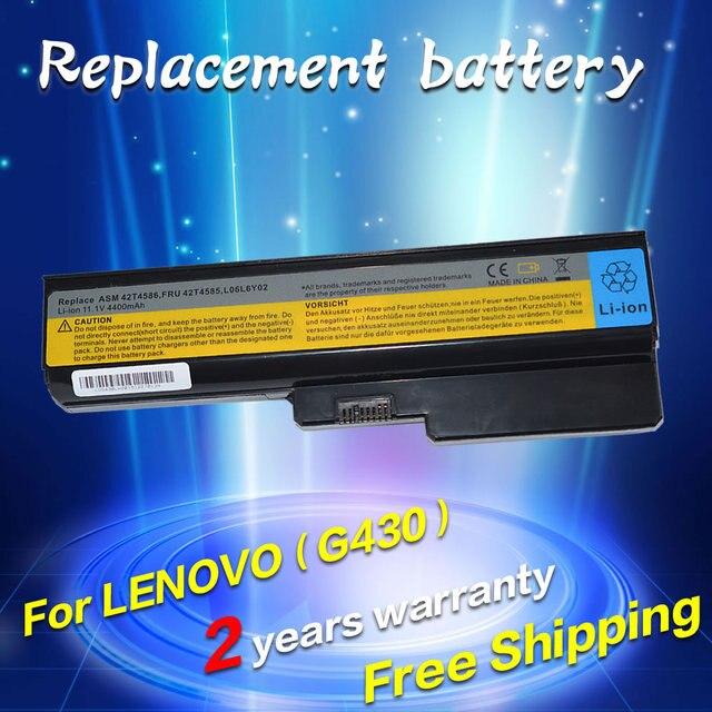 JIGU Laptop battery For Lenovo 3000 IdeaPad G430 G450 G530 G550 N500 Z360 B460 B550 V460 V450 G455 G555